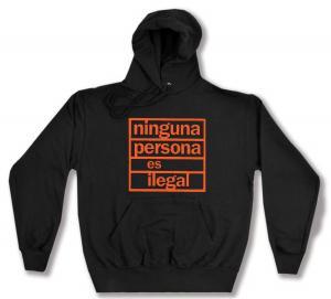Kapuzen-Pullover: ninguna persona es ilegal