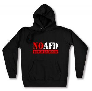 taillierter Kapuzen-Pullover: No AFD