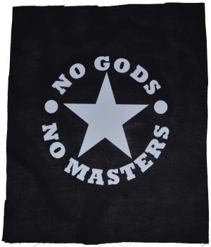 Rückenaufnäher: No Gods No Masters