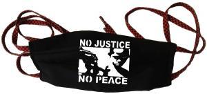 Mundmaske: No Justice - No Peace