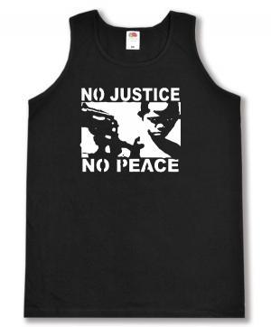 Tanktop: No Justice - No Peace