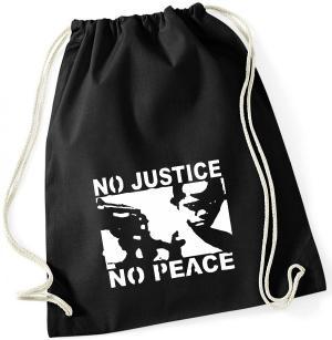 Sportbeutel: No Justice - No Peace