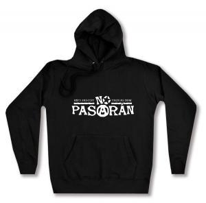 taillierter Kapuzen-Pullover: No Pasaran - Anti-Fascist Then As Now