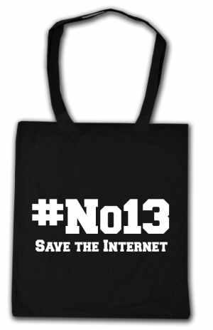 Baumwoll-Tragetasche: #no13