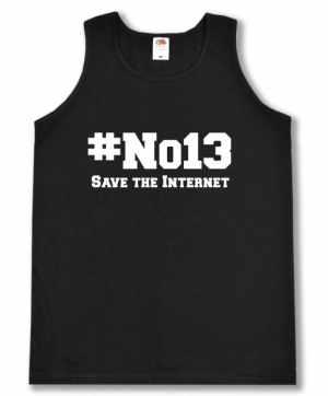 Tanktop: #no13