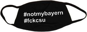Mundmaske: #notmybayern #fckcsu