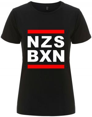 tailliertes Fairtrade T-Shirt: NZS BXN
