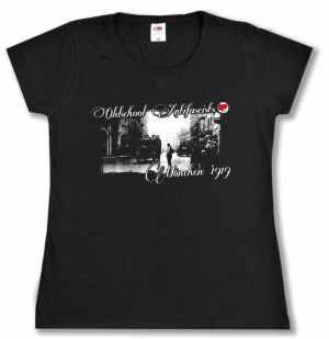 Girlie-Shirt: Oldschool Antifascists