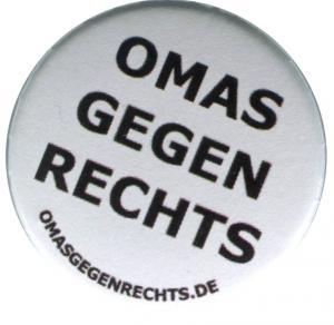37mm Magnet-Button: Omas gegen Rechts