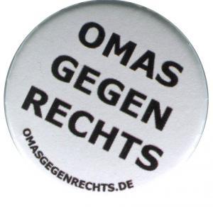 50mm Magnet-Button: Omas gegen Rechts