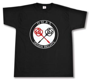 T-Shirt: Omas gegen Rechts (Teppichklopfer)