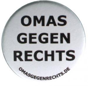 25mm Button: Omas gegen Rechts