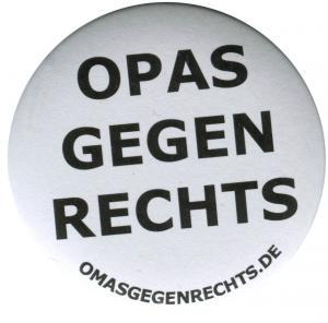 37mm Magnet-Button: Opas gegen Rechts