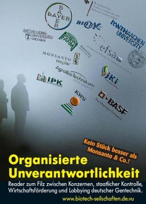 Broschüre: Organisierte Unverantwortlichkeit