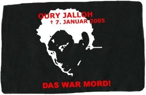 Aufnäher: Oury Jalloh - 7. Januar 2005