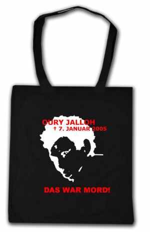 Baumwoll-Tragetasche: Oury Jalloh - 7. Januar 2005