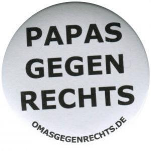 25mm Button: Papas gegen Rechts