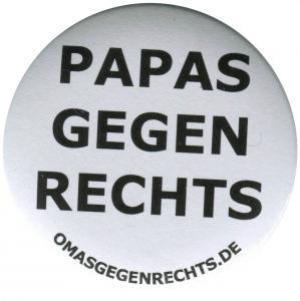 37mm Button: Papas gegen Rechts