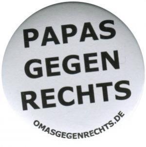 37mm Magnet-Button: Papas gegen Rechts