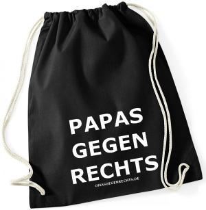 Sportbeutel: Papas gegen Rechts