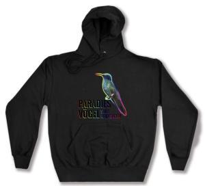 Kapuzen-Pullover: Paradiesvögel statt Reichsadler