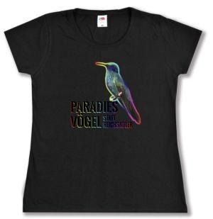 Girlie-Shirt: Paradiesvögel statt Reichsadler