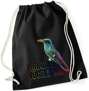 Sportbeutel: Paradiesvögel statt Reichsadler