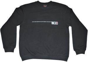 Sweatshirt: Peace, Love and Petrol Bombs
