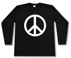 Longsleeve: Peacezeichen