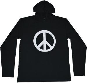 Kapuzen-Longsleeve: Peacezeichen