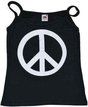 Trägershirt: Peacezeichen