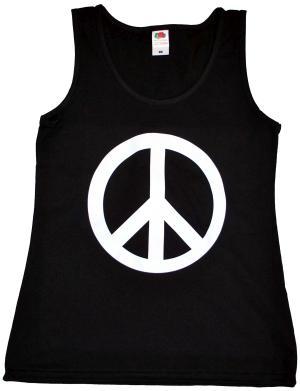 tailliertes Tanktop: Peacezeichen