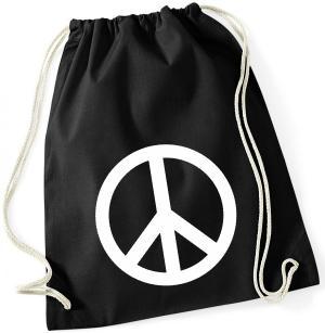 Sportbeutel: Peacezeichen