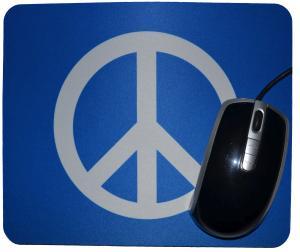 Mousepad: Peacezeichen