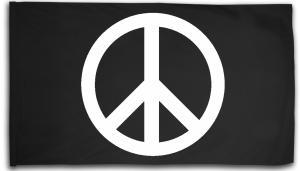 Fahne / Flagge (ca. 150x100cm): Peacezeichen
