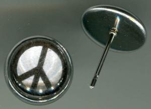 Ohrstecker: Peacezeichen