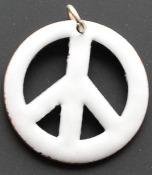Anhänger: Peacezeichen
