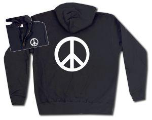 Kapuzen-Jacke: Peacezeichen