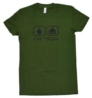 tailliertes T-Shirt: Peak Oil