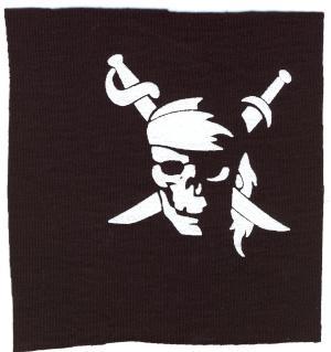 Aufnäher: Pirate