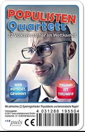 Sonstiges: Populisten Quartett (Spiel)