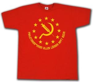 T-Shirt: Proletarier aller Länder impft Euch!