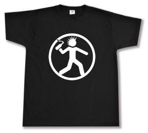 T-Shirt: Punker mit Molli