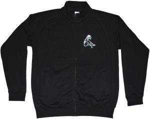 Sweat-Jacket: Punker Zwille