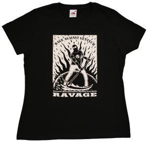 tailliertes T-Shirt: Rage Against Gentech