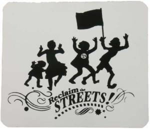 Aufkleber: Reclaim the Streets