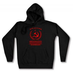 taillierter Kapuzen-Pullover: Red Action