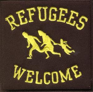 Aufnäher: Refugees Welcome