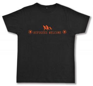 Fairtrade T-Shirt: Refugees welcome (Stern)