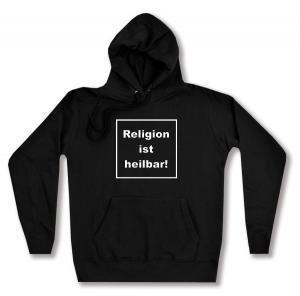 taillierter Kapuzen-Pullover: Religion ist heilbar!